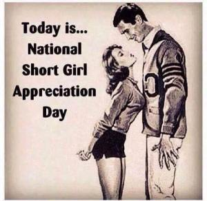 National Short Girl Appreciation Day